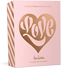 Love in Twelve Languages: 12 Foil-Stamped Note Cards with Envelopes