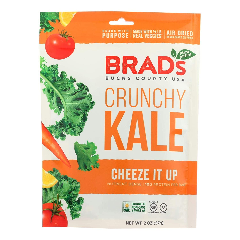 Brad's Plant Based Crunchy Kale - Cheeze Up Of Case Popular brand It 12-2 Oz Phoenix Mall
