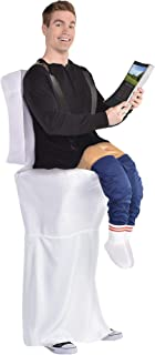 Party City Illusion Bathroom Jon Halloween Costume for Adults, Standard