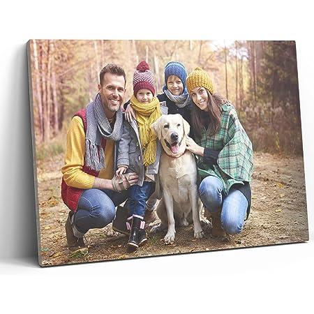 Detalles Creativos Lienzos Personalizados con Foto   Cuadro Personalizado   Lienzo Impreso sobre Bastidor Diferentes tamaños (40x30 cm)