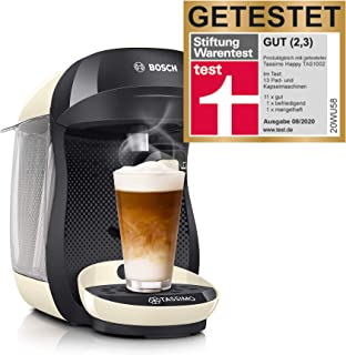 Bosch TAS1007 Tassimo Happy Cafetera de cápsulas, 1400 W,