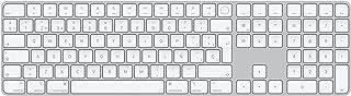 Apple Magic Keyboard con TouchID yTeclado numérico (para Mac con Chip deApple) - Español - Plata