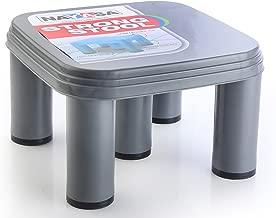 Nayasa Strong No 515 Plastic Stool, Grey