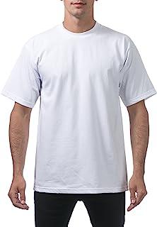 Pro Club Men`s Heavyweight Cotton Short Sleeve Crew Neck T-Shirt
