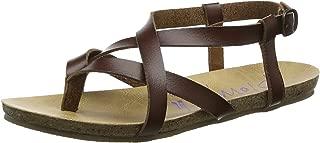 Blowfish Womens Granola Whiskey Dyecut Gladiator Flat Sandals Size