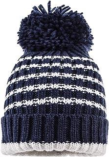 maximo Mütze mit Umschlag, Pompon Sombrero, Multicolor (Navy/Antik White 4801), 49/51 para Bebés