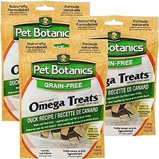 Cardinal 3 Pack Pet Botanics Healthy Omega Treats Duck (15 oz)