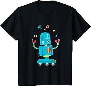 Enfant Robot Enfants Garçons Filles Toddler Robot Mignon Futur T-Shirt