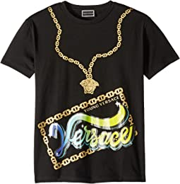 Short Sleeve Medusa Necklace Graphic T-Shirt (Big Kids)