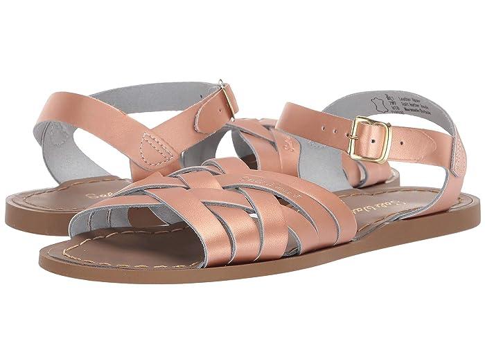 Salt Water Sandal by Hoy Shoes  Retro (Big Kid/Adult) (Rose Gold) Girls Shoes