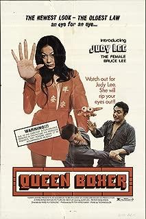 """Chou (aka Queen Boxer) 1972 Authentic 27"""" x 41"""" Original Movie Poster David Wei Tang Drama U.S. One Sheet"""