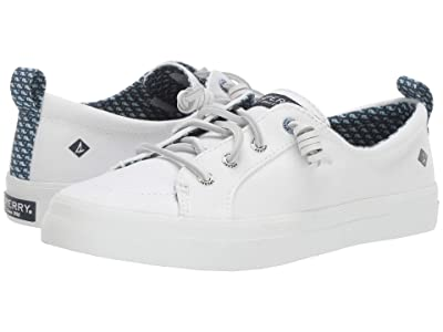 Sperry Crest Vibe Canvas (White) Women