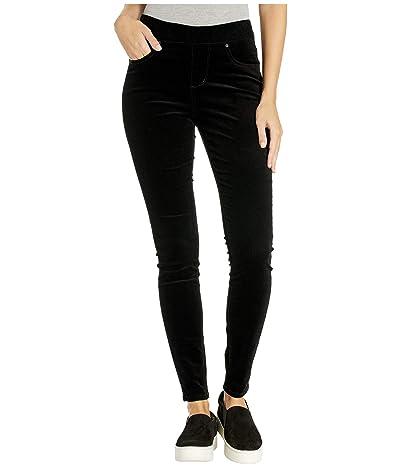 Jag Jeans Maya Skinny Pull-On Corduroy Pants (Black) Women