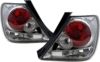CABI EP3 Civic SI Type-R 2001 2005 Seventh generation - Hatchback 3D Clear Tail Rear Light Chrome V2 for HONDA