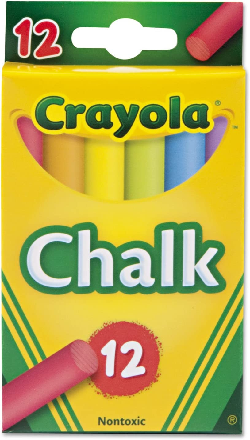 Crayola Virginia Beach Mall 510816 Chalk Two Each of Free shipping Assorted Sticks Six 12 Colors