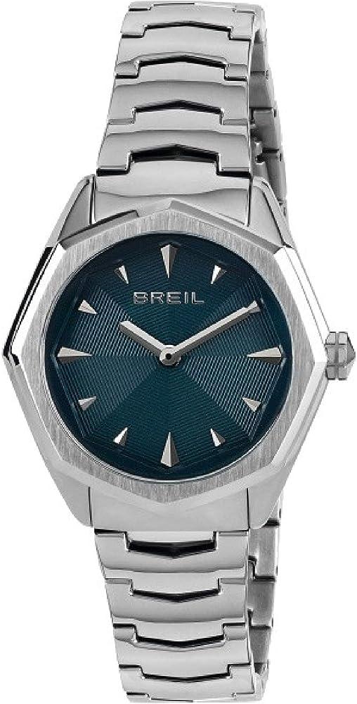 Breil orologio da donna in acciaio quadrante mono-colore blu TW1701