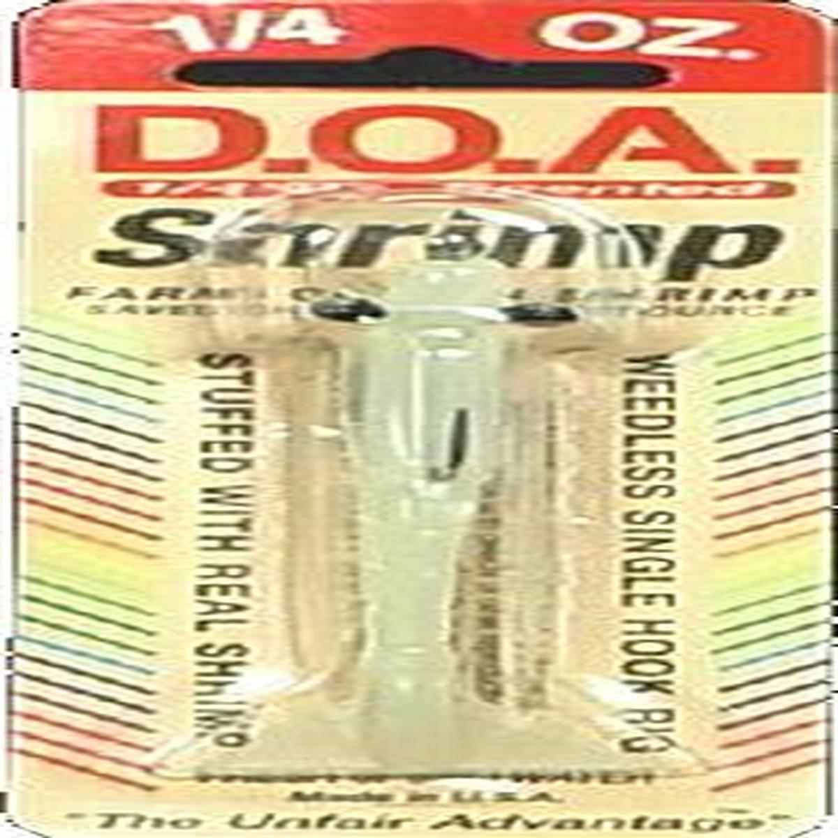 1/4oz Estándar Camarones (noche Glow) - Doa Fsh3-305, señuelos de ...