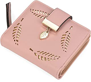 5868849e9d02 Paradox Girls Leaf Bi-fold Card Holder Womens Purse Clutch Wallet