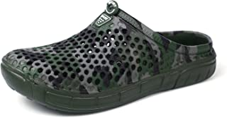 Men's Summer Garden Clogs Shoes Ultra Lightweight Slide Sandals Beach Water Shoes