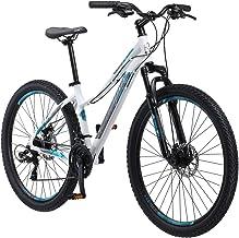 """Schwinn 27.5"""" Aluminum Comp Women's Mountain Bike, White"""