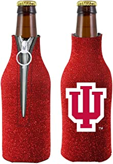 Kolder NCAA Indiana University Glitter Bottle Coolie, One Size, Multicolor