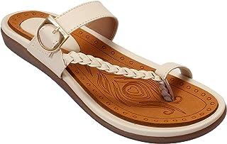 Footstreet Fancy Sandal Women's Toe-ring Ankle Strap