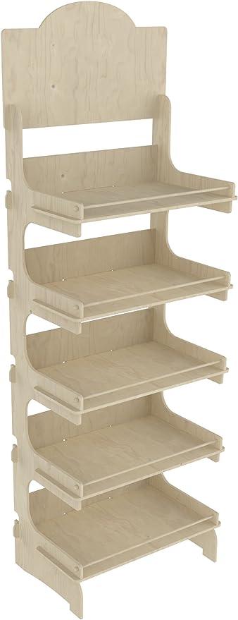 19 opinioni per Cemab Europa, espositore in legno 5 piani 53 cm montaggio ad incastro