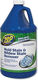 Zep Commercial Mold Stain and Mildew Stain Remover, 1 gal, 4/Carton