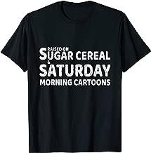 Vintage Sugar Cereal & Saturday Morning Cartoons TShirt
