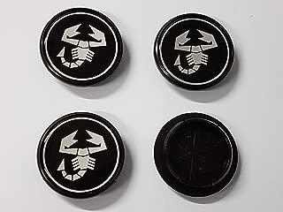 Badge logo scorpione Abarth 500 595 paraurti bumper diffusore alluminio fregio