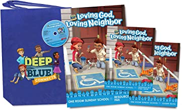 Deep Blue Connects One Room Sunday School Kit Fall 2019: Loving God, Loving Neighbor Ages 3-12