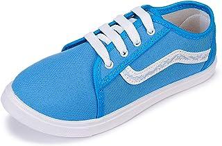 2ROW Women's Canvas Blue Sneakers