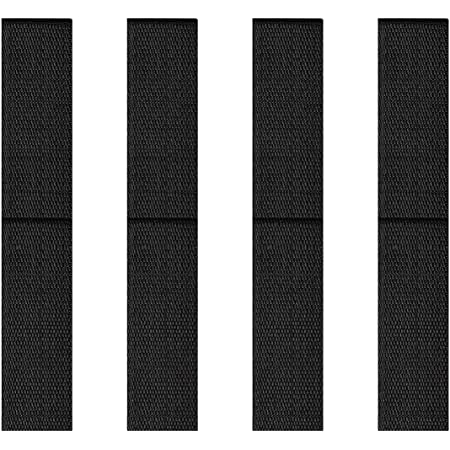 8 Pieces Adjustable Hoverboard Straps Hook and Loop Fastening Hoverboard Cable Hoverboard Replacement Straps for Kart Accessories Self Balance Scooter