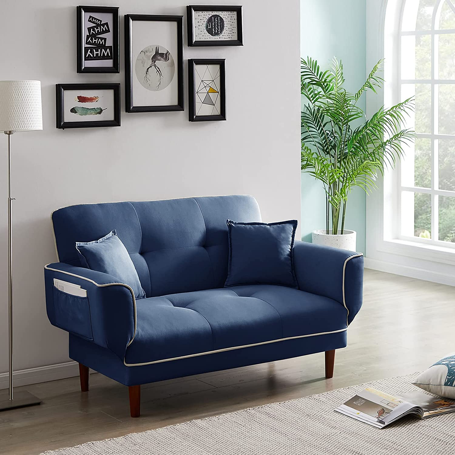 Axgo Sofa Bed Modern Lowest price We OFFer at cheap prices challenge Convertible 4 Folding in Futon 1