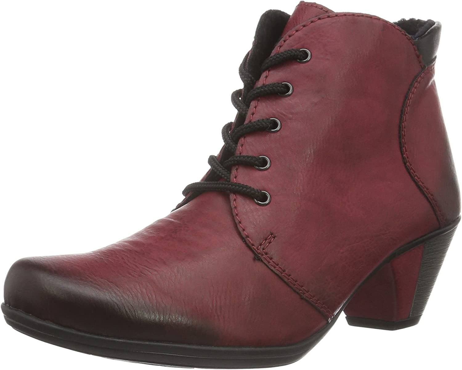 Rieker Women Ankle Boots red, (wine black) Y722035