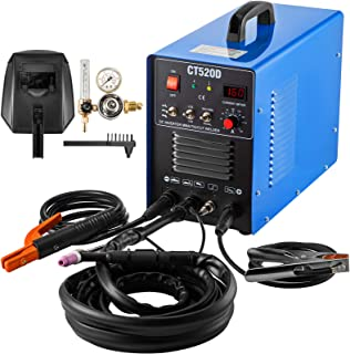 Mophorn TIG/MMA Plasma Cutter CT520D 3 in 1 Combo Welding Machine Tig Welder 200A Arc Welder 200A Plasma Cutter 50A Plasma...