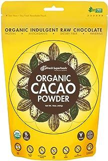 pHresh Superfoods Premium Cacao Powder - Great Taste Unsweetened Healthy Rich Dark Chocolate 453.59g (16oz) - Certified 10...