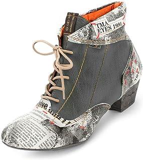 RIEKER DAMEN STIEFELETTE Stiefel Boots Gr. 41 Nr. 9 A 732
