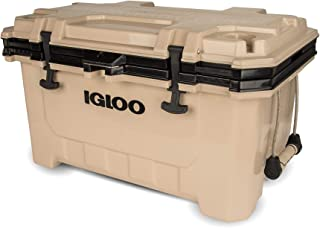 Igloo 70 QT Lockable Insulated Ice Chest Cooler with Carry Handles
