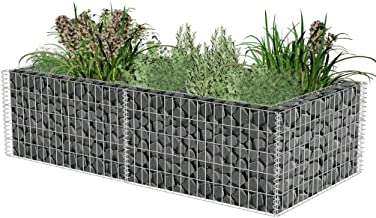 Festnight Gabion Basket Planter 71