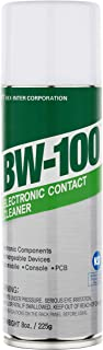 BW-100 Nonflammable Electronic Contact Cleaner aerosol Spray HFOs Quick Dry Upsidedown usable (8oz.)