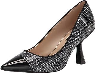 حذاء نسائي من NINE West، لون أسود ترتر، 6. 5