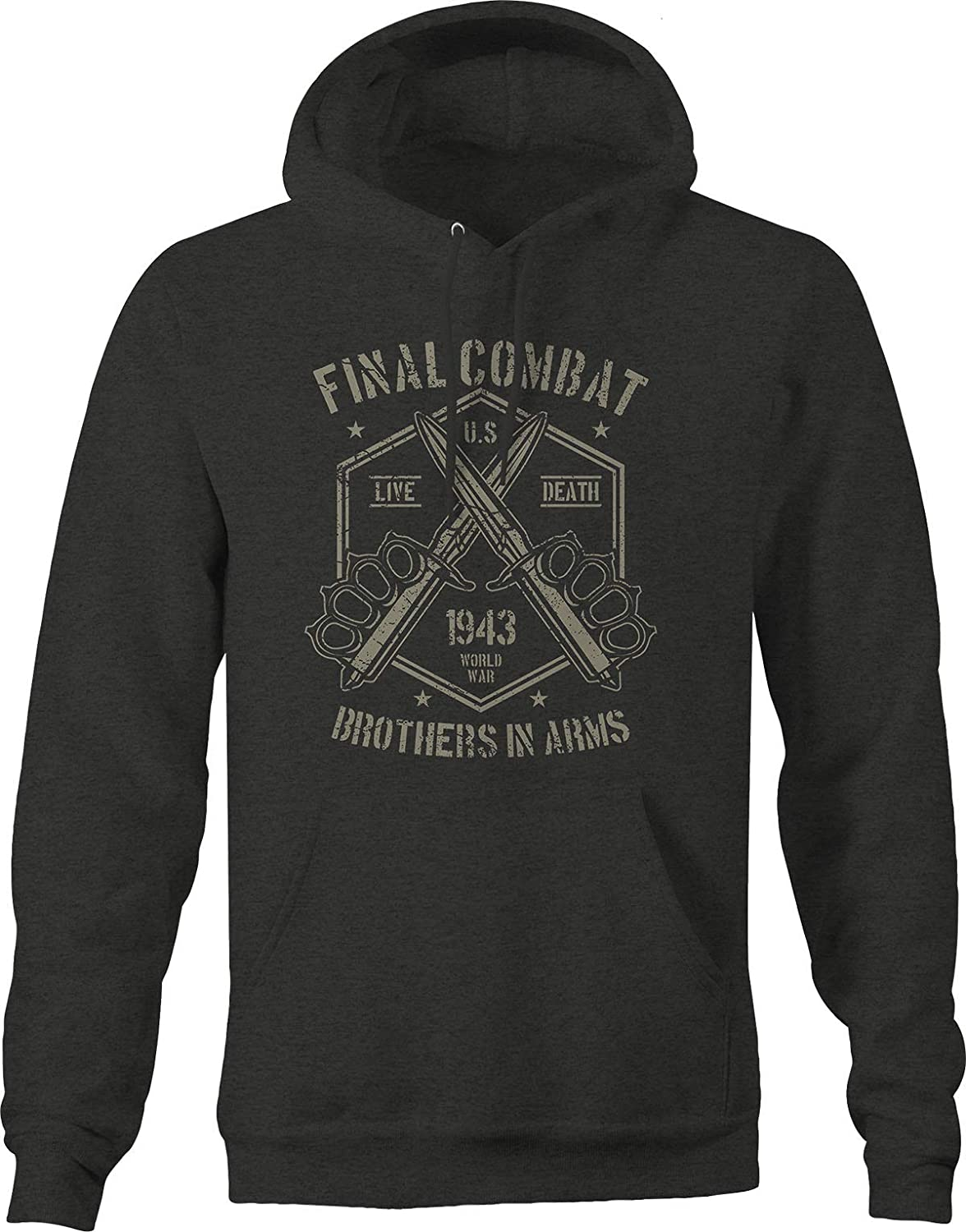 Final Combat Brothers Super Special SALE Branded goods held in Arms 1943 WW2 3XL for Men Da Hoodie Big