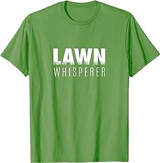 Dad | (The) LAWN WHISPERER | Funny Dad + Mom Joke T-Shirt