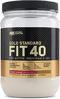 Optimum Nutrition Gold Standard FIT 40 PreWorkout Booster, Cherry Limeade, 11.3 Oz