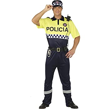 TecTake dressforfun Disfraz de policía para Hombre | Uniforme y ...