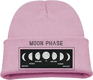 Autumn Winter Warm Cap Hat For Adult Baby Children Moon Phase Full Moon Crescent Nature Lovers Toddler Girls Boys Winter Hats Lovely Hat