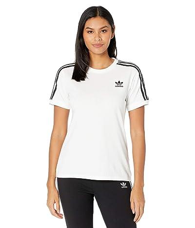 adidas Originals 3-Stripes Tee (White 2) Women