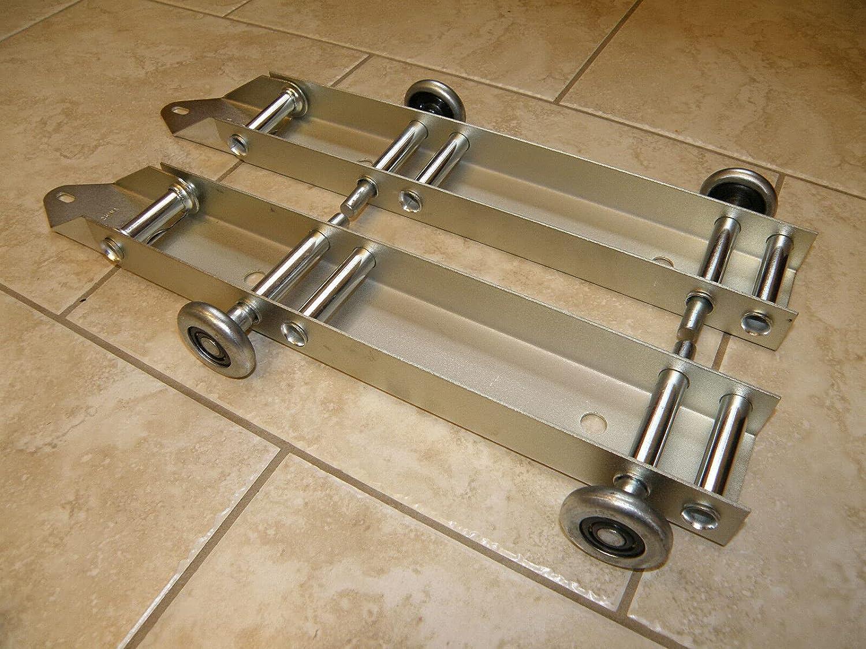 excellence Regular dealer Garage Door Low Headroom Quick Brackets with Turn Steel Rollers