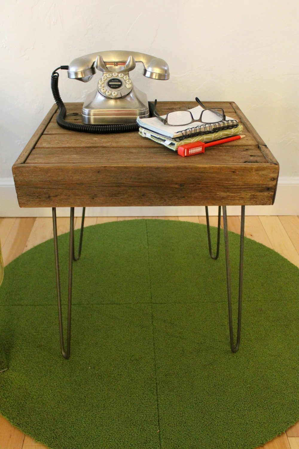 Reservation Reclaimed Wood Side El Paso Mall Sofa Table Legs on -